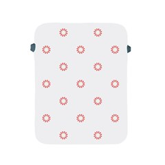 Scrapbook Paper Flower Apple iPad 2/3/4 Protective Soft Cases