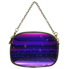 Space Planet Pink Blue Purple Chain Purses (One Side)