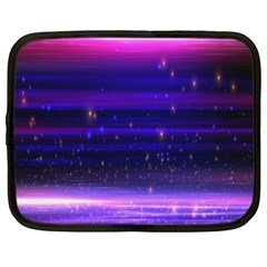Space Planet Pink Blue Purple Netbook Case (XXL)