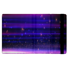 Space Planet Pink Blue Purple Apple iPad 2 Flip Case