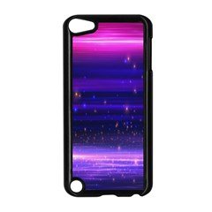 Space Planet Pink Blue Purple Apple iPod Touch 5 Case (Black)