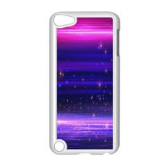 Space Planet Pink Blue Purple Apple Ipod Touch 5 Case (white)