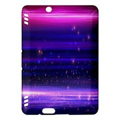 Space Planet Pink Blue Purple Kindle Fire Hdx Hardshell Case