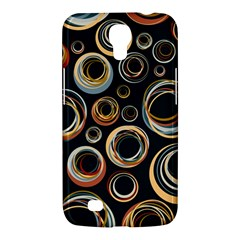 Seamless Cubes Texture Circle Black Orange Red Color Rainbow Samsung Galaxy Mega 6.3  I9200 Hardshell Case