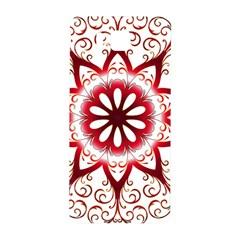 Prismatic Flower Floral Star Gold Red Orange Samsung Galaxy Alpha Hardshell Back Case