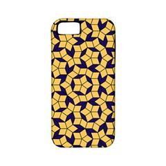 Star Orange Blue Apple iPhone 5 Classic Hardshell Case (PC+Silicone)