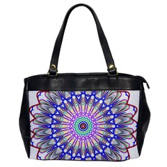 Prismatic Line Star Flower Rainbow Office Handbags