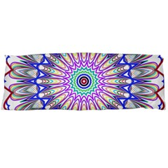 Prismatic Line Star Flower Rainbow Body Pillow Case Dakimakura (Two Sides)