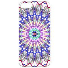 Prismatic Line Star Flower Rainbow Apple iPhone 5 Classic Hardshell Case