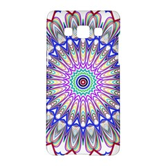Prismatic Line Star Flower Rainbow Samsung Galaxy A5 Hardshell Case