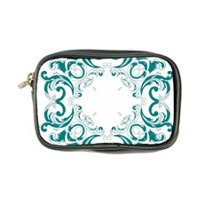 Vintage Floral Style Frame Coin Purse