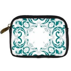 Vintage Floral Style Frame Digital Camera Cases