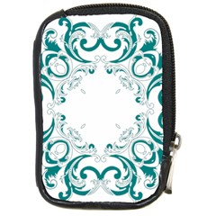 Vintage Floral Style Frame Compact Camera Cases
