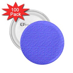 Ripples Blue Space 2.25  Buttons (100 pack)