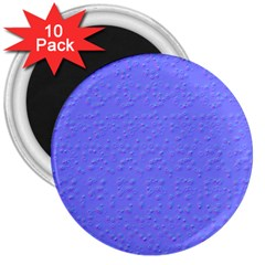 Ripples Blue Space 3  Magnets (10 pack)