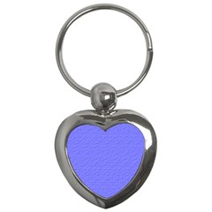 Ripples Blue Space Key Chains (heart)