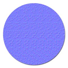 Ripples Blue Space Magnet 5  (Round)