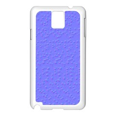 Ripples Blue Space Samsung Galaxy Note 3 N9005 Case (White)
