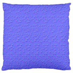 Ripples Blue Space Large Flano Cushion Case (Two Sides)