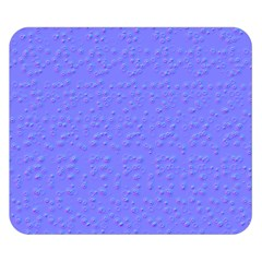 Ripples Blue Space Double Sided Flano Blanket (Small)