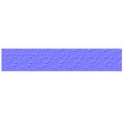 Ripples Blue Space Flano Scarf (Large)