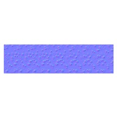 Ripples Blue Space Satin Scarf (Oblong)