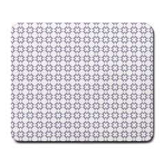 Violence Head On King Purple White Flower Large Mousepads