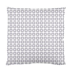 Violence Head On King Purple White Flower Standard Cushion Case (Two Sides)