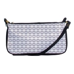 Violence Head On King Purple White Flower Shoulder Clutch Bags