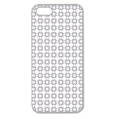 Violence Head On King Purple White Flower Apple Seamless iPhone 5 Case (Clear)