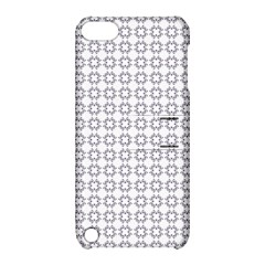 Violence Head On King Purple White Flower Apple iPod Touch 5 Hardshell Case with Stand