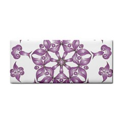 Frame Flower Star Purple Cosmetic Storage Cases