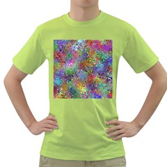 Glass Rainbow Color Green T-Shirt