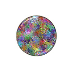 Glass Rainbow Color Hat Clip Ball Marker