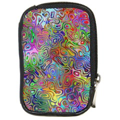 Glass Rainbow Color Compact Camera Cases