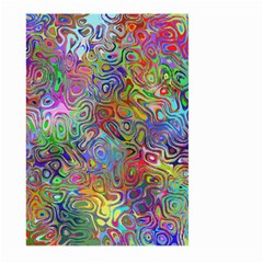Glass Rainbow Color Large Garden Flag (Two Sides)