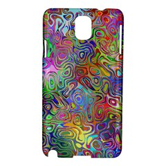 Glass Rainbow Color Samsung Galaxy Note 3 N9005 Hardshell Case