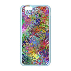 Glass Rainbow Color Apple Seamless iPhone 6/6S Case (Color)