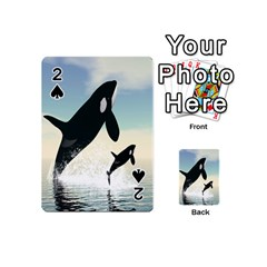 Whale Mum Baby Jump Playing Cards 54 (Mini)