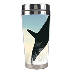 Whale Mum Baby Jump Stainless Steel Travel Tumblers