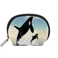 Whale Mum Baby Jump Accessory Pouches (Small)