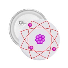 Atom Physical Chemistry Line Red Purple Space 2.25  Buttons