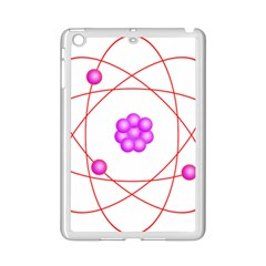 Atom Physical Chemistry Line Red Purple Space iPad Mini 2 Enamel Coated Cases