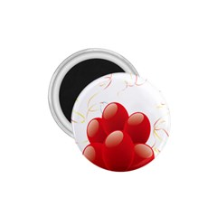 Balloon Partty Red 1.75  Magnets