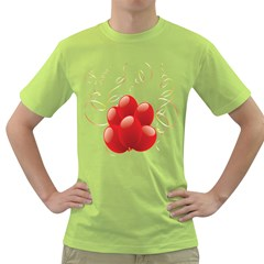 Balloon Partty Red Green T-Shirt