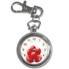 Balloon Partty Red Key Chain Watches