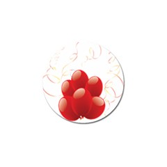 Balloon Partty Red Golf Ball Marker (10 Pack)