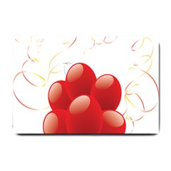 Balloon Partty Red Small Doormat