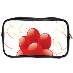 Balloon Partty Red Toiletries Bags 2 Side