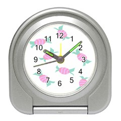 Candy Pink Blue Sweet Travel Alarm Clocks